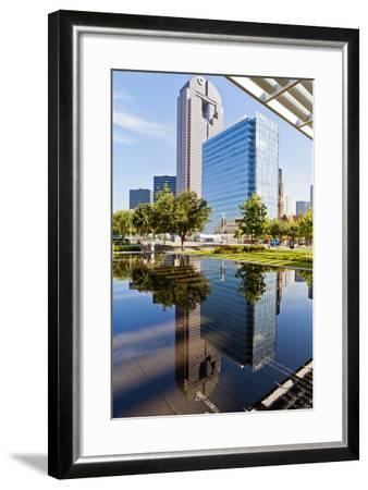 Art District, At&T Performing Arts Centre, Dallas, Texas, United States of America, North America-Kav Dadfar-Framed Photographic Print