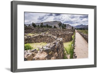 Raqchi Inca Ruins, an Archaeological Site in the Cusco Region, Peru, South America-Matthew Williams-Ellis-Framed Photographic Print
