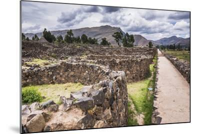 Raqchi Inca Ruins, an Archaeological Site in the Cusco Region, Peru, South America-Matthew Williams-Ellis-Mounted Photographic Print