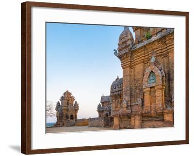 Po Klong Garai Temple, 13th Century Cham Towers, Phan Rang-Thap Cham, Ninh Thuan Province, Vietnam-Jason Langley-Framed Photographic Print