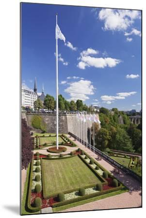 Place De La Constitution, Luxembourg City, Grand Duchy of Luxembourg, Europe-Markus Lange-Mounted Photographic Print