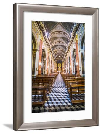 Inside Salta Cathedral, Salta, Salta Province, North Argentina, Argentina, South America-Matthew Williams-Ellis-Framed Photographic Print