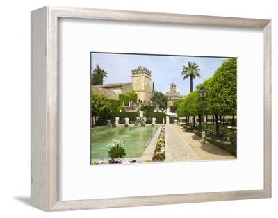 Gardens in Alcazar, Cordoba, Andalucia, Spain, Europe-Peter Barritt-Framed Photographic Print