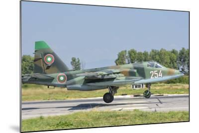 A Bulgarian Air Force Su-25 Jet During Exercise Thracian Star-Stocktrek Images-Mounted Photographic Print