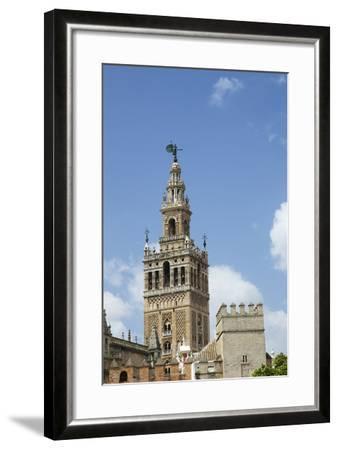 La Giralda, Bell Tower, Seville Cathedral, Seville, Andalucia, Spain-Peter Barritt-Framed Photographic Print