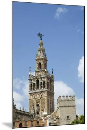 La Giralda, Bell Tower, Seville Cathedral, Seville, Andalucia, Spain-Peter Barritt-Mounted Photographic Print