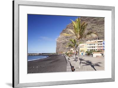 Beach of Puerto De Tazacorte, La Palma, Canary Islands, Spain, Atlantic, Europe-Markus Lange-Framed Photographic Print