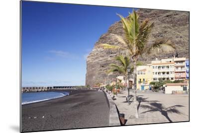 Beach of Puerto De Tazacorte, La Palma, Canary Islands, Spain, Atlantic, Europe-Markus Lange-Mounted Photographic Print