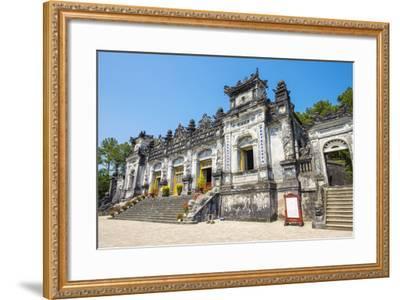 Tomb of Khai Dinh (Lang Khai Dinh), Huong Thuy District, Thua Thien-Hue Province, Vietnam-Jason Langley-Framed Photographic Print