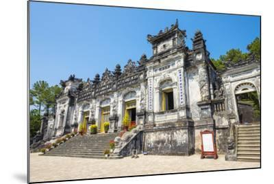 Tomb of Khai Dinh (Lang Khai Dinh), Huong Thuy District, Thua Thien-Hue Province, Vietnam-Jason Langley-Mounted Photographic Print