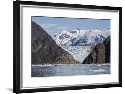 Scenic Views of the South Sawyer Glacier in Tracy Arm-Fords Terror Wilderness Area, Alaska-Michael Nolan-Framed Photographic Print
