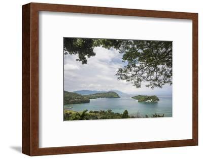 Pulau Weh Island Landscape, Aceh Province, Sumatra, Indonesia, Southeast Asia, Asia-Matthew Williams-Ellis-Framed Photographic Print