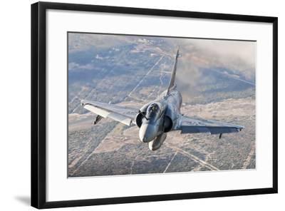 Brazilian Air Force Mirage 2000 Flying over Brazil-Stocktrek Images-Framed Photographic Print