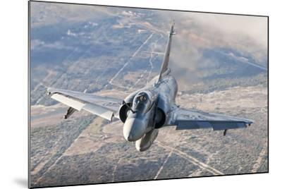 Brazilian Air Force Mirage 2000 Flying over Brazil-Stocktrek Images-Mounted Photographic Print