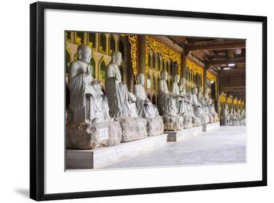 Arhat Statues at Bai Dinh Temple (Chua Bai Dinh), Gia Vien District, Ninh Binh Province, Vietnam-Jason Langley-Framed Photographic Print