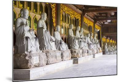 Arhat Statues at Bai Dinh Temple (Chua Bai Dinh), Gia Vien District, Ninh Binh Province, Vietnam-Jason Langley-Mounted Photographic Print