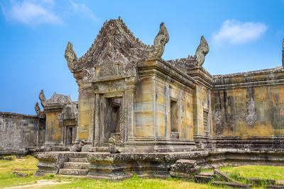 Prasat Preah Vihear Temple Ruins, Kantout, Preah Vihear Province, Cambodia, Indochina-Jason Langley-Framed Photographic Print