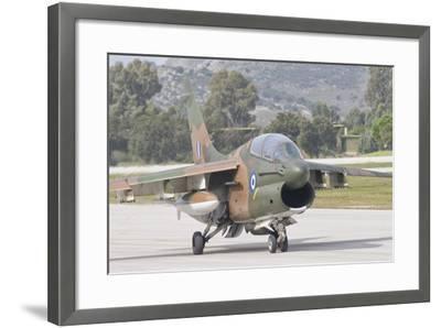 Hellenic Air Force Ta-7 Corsair Ii at Araxos Air Base, Greece-Stocktrek Images-Framed Photographic Print