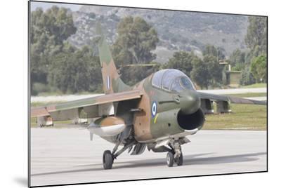 Hellenic Air Force Ta-7 Corsair Ii at Araxos Air Base, Greece-Stocktrek Images-Mounted Photographic Print