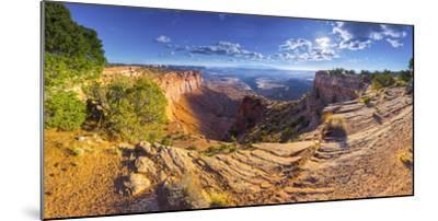 Usa, Utah, Canyonlands National Park, Island in the Sky District, Buck Canyon Overlook-Alan Copson-Mounted Photographic Print