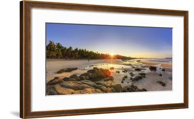Myanmar (Burma), Rakhine State, Ngapali Beach-Michele Falzone-Framed Photographic Print