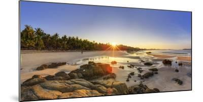 Myanmar (Burma), Rakhine State, Ngapali Beach-Michele Falzone-Mounted Photographic Print