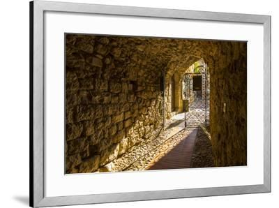 Eze, Alpes-Maritimes, Provence-Alpes-Cote D'Azur, French Riviera, France-Jon Arnold-Framed Photographic Print