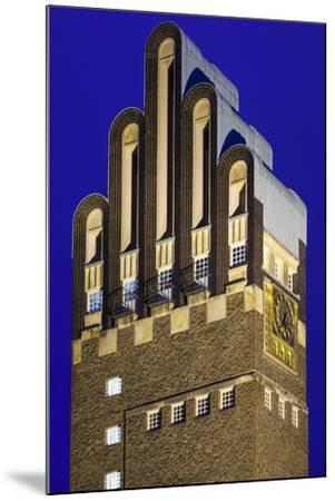 Germany, Hesse, Darmstadt, Mathildenhohe Kunstlerkolonie Park, Wedding Tower-Walter Bibikow-Mounted Photographic Print