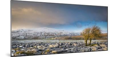 Ribblehead Viaduct-Nick Ledger-Mounted Photographic Print