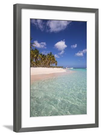 Dominican Republic, Punta Cana, Parque Nacional Del Este, Saona Island, Canto De La Playa-Jane Sweeney-Framed Photographic Print