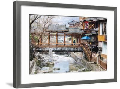 "Xijiang, or 'One-Thousand-Household"" Miao Village (The Biggest Miao Village in China), Guizhou-Nadia Isakova-Framed Photographic Print"