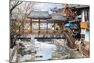 "Xijiang, or 'One-Thousand-Household"" Miao Village (The Biggest Miao Village in China), Guizhou-Nadia Isakova-Mounted Photographic Print"