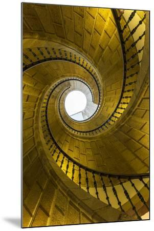 Triple Spiral Staircase of Floating Stairs. Convent of Santo Domingo De Bonaval-Peter Adams-Mounted Photographic Print