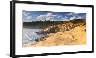 Dominica, Calibishie. the Red Rocks at Pointe Baptiste.-Nick Ledger-Framed Photographic Print