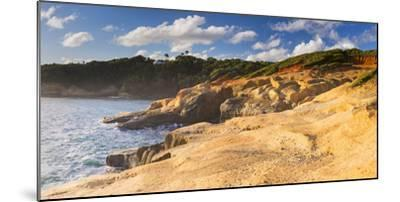 Dominica, Calibishie. the Red Rocks at Pointe Baptiste.-Nick Ledger-Mounted Photographic Print