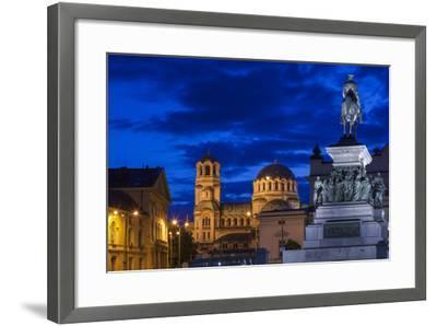 Bulgaria, Sofia-Walter Bibikow-Framed Photographic Print