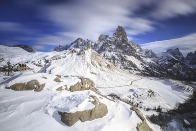 Pale Di San Martino. Rolle Pass Panaveggio Dolomites Trentino Alto Adige Italy Europe-ClickAlps-Framed Photographic Print