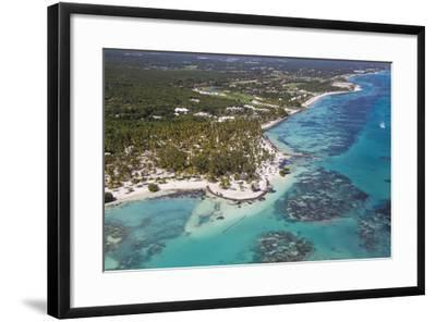 Dominican Republic, Punta Cana, View of Cap Cana, Juanillo-Jane Sweeney-Framed Photographic Print