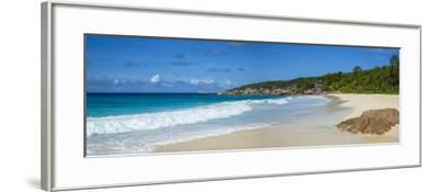 Petite Anse Beach, La Digue, Seychelles-Jon Arnold-Framed Photographic Print
