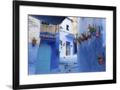 North Africa, Morocco, Chefchaouen District.Details of the City-ClickAlps-Framed Photographic Print