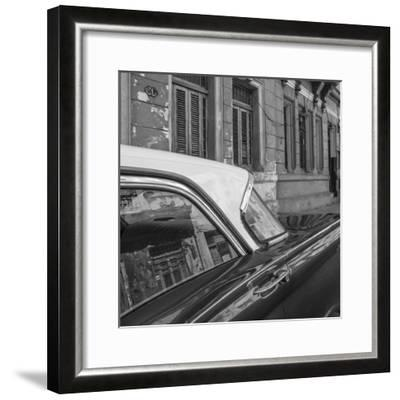 Classic 50s America Car in the Streets of Centro Habana, Havana, Cuba-Jon Arnold-Framed Photographic Print