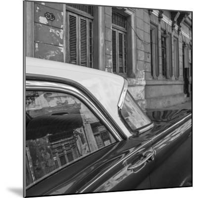 Classic 50s America Car in the Streets of Centro Habana, Havana, Cuba-Jon Arnold-Mounted Photographic Print