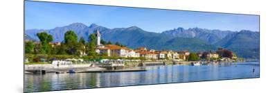 The Idyllic Lakeside Village of Baveno, Lake Maggiore, Piedmont, Italy-Doug Pearson-Mounted Photographic Print