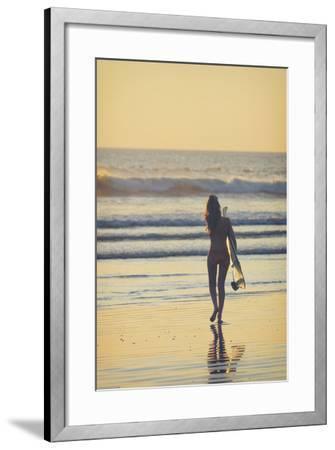 Costa Rica, Guanacaste, Nicoya Peninsula, Nosara, Playa Guiones-Michele Falzone-Framed Photographic Print