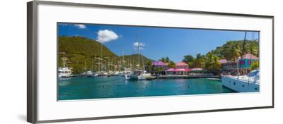 Caribbean, British Virgin Islands, Tortola, Sopers Hole-Alan Copson-Framed Photographic Print