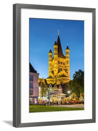 Fischmarkt, Old Town, Cologne, North Rhine Westphalia, Germany-Sabine Lubenow-Framed Photographic Print