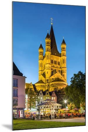 Fischmarkt, Old Town, Cologne, North Rhine Westphalia, Germany-Sabine Lubenow-Mounted Photographic Print