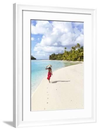 One Foot Island, Aitutaki, Cook Islands (Mr)-Matteo Colombo-Framed Photographic Print