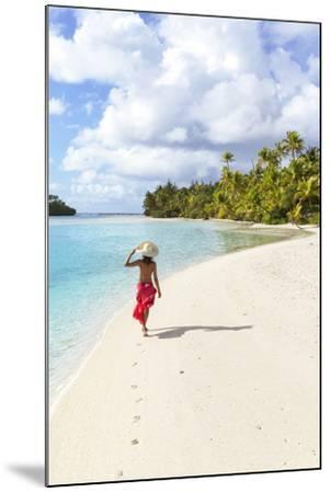 One Foot Island, Aitutaki, Cook Islands (Mr)-Matteo Colombo-Mounted Photographic Print