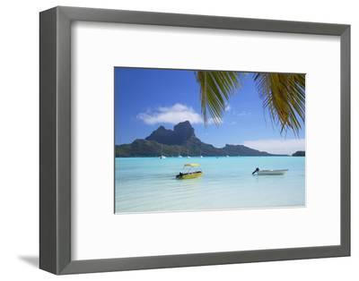 Bora Bora, Society Islands, French Polynesia-Ian Trower-Framed Photographic Print